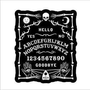 Ouija Board graphic Pin goth gothic